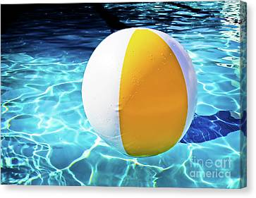 Inflatable Canvas Print - Floating by Colleen Kammerer