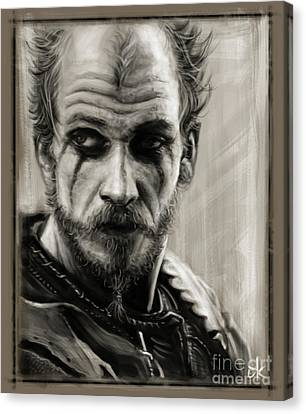Floki Canvas Print by Andre Koekemoer