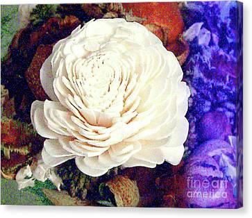 Canvas Print featuring the photograph Floral Potpourri by Merton Allen