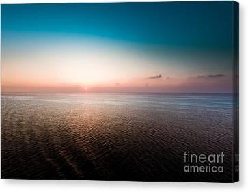 Florida Sunset Canvas Print by Ryan Kelly