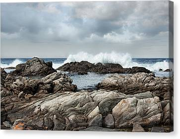 Flour Cask Bay Kangaroo Island Canvas Print by Anne Christie