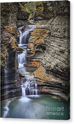 Flow Gently Canvas Print