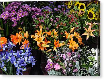 Flower Market II Canvas Print