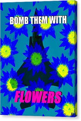 Flower Power Canvas Print by David Lee Thompson