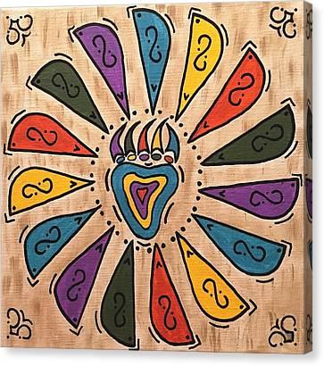 Flower Power Canvas Print by Susie WEBER