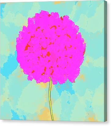 Flower Canvas Print by Skip Nall