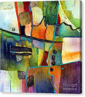 Fluvial  Mosaic Canvas Print by Hailey E Herrera