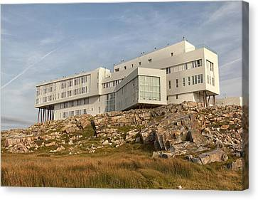 Fogo Island Inn Canvas Print