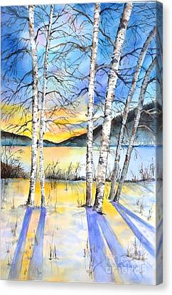 For Love Of Winter #5 Canvas Print