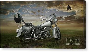 For Martin Canvas Print by Curt Johnson