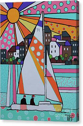 Canvas Print - For Sail by Tim Ross