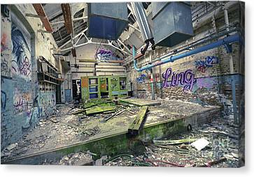 Forgotten Place Canvas Print by Svetlana Sewell