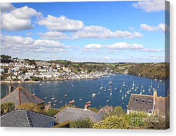 Fowey Canvas Print by Carl Whitfield