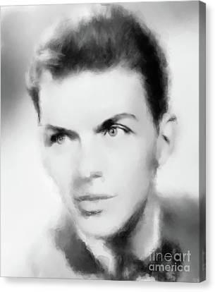 Frank Sinatra Canvas Print - Frank Sinatra, Legend by Mary Bassett