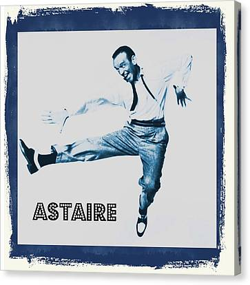 Fred Astaire Canvas Print by John Springfield