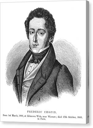 Frederic Chopin (1810-1849) Canvas Print by Granger