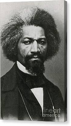 Frederick Douglass, African-american Canvas Print
