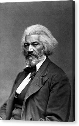 Frederick Douglass Canvas Print by War Is Hell Store