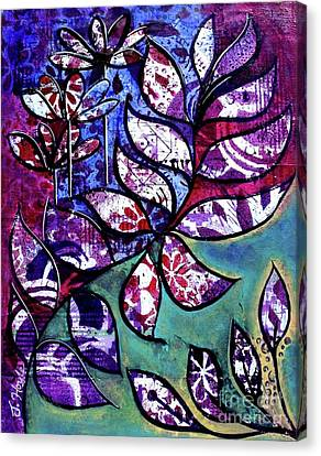 Canvas Print featuring the painting Freedom by Julie Hoyle