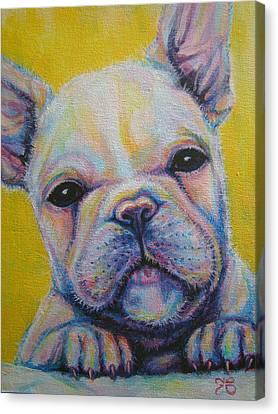 French Bulldog Canvas Print by Jack No War
