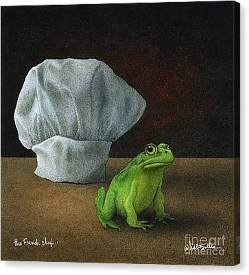 French Chef... Canvas Print