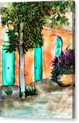 French Quarter Alley Canvas Print by Brenda Bryant