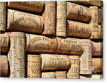 French Wines Canvas Print by Anthony Jones