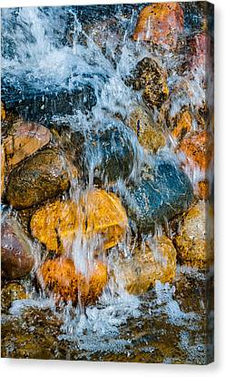 Canvas Print featuring the photograph Fresh Water by Alexander Senin