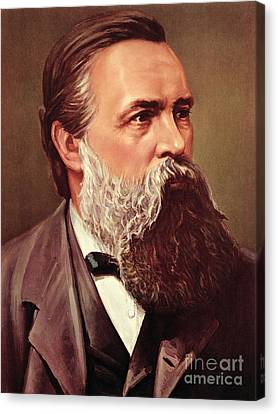 Friedrich Engels Canvas Print