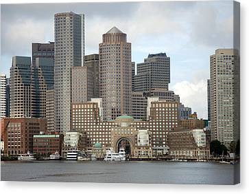 From Boston Harbor Canvas Print