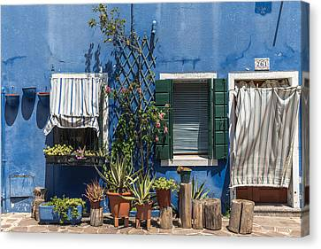 Frontage Canvas Print by Chris Fletcher