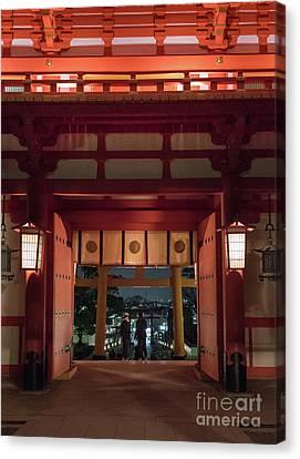 Fushimi Inari Taisha, Kyoto Japan Canvas Print