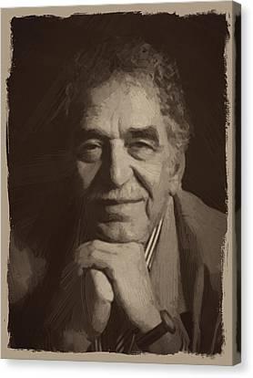 Quote Canvas Print - Gabriel Garcia Marquez by Afterdarkness