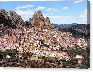 Sicily Canvas Print - Gagliano Castelferrato - Sicily by Joana Kruse
