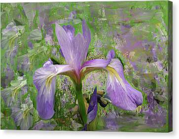 Garden Of Eden Painting  Canvas Print by Don  Wright