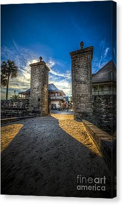 Gate To The City Canvas Print