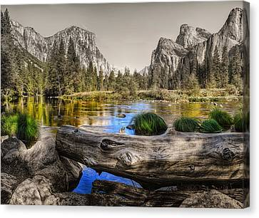 Gateway Canvas Print by Stephen Campbell