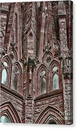 gaudi Barcelona Canvas Print