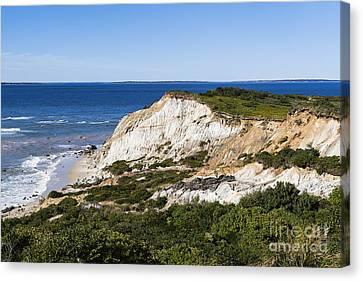 Gay Head Cliffs Canvas Print by John Greim