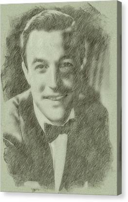 Gene Kelly By John Springfield Canvas Print
