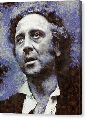 Gene Wilder Hollywood Actor Canvas Print by Esoterica Art Agency