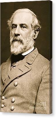 General Robert E Lee  Canvas Print by American School