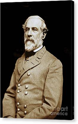 Paul Faust Canvas Print - General Robert E Lee - Csa by Paul W Faust -  Impressions of Light