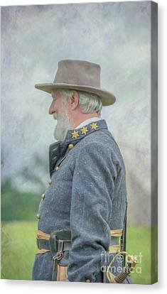 General Robert E. Lee Canvas Print by Randy Steele