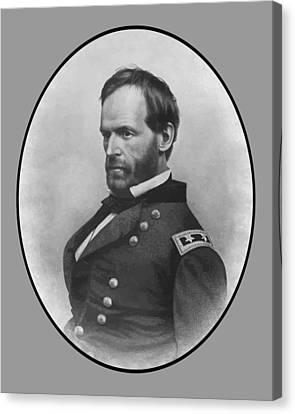 General Sherman Canvas Print