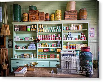 General Store Canvas Print by Inge Johnsson