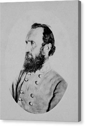 General Thomas Stonewall Jackson Canvas Print