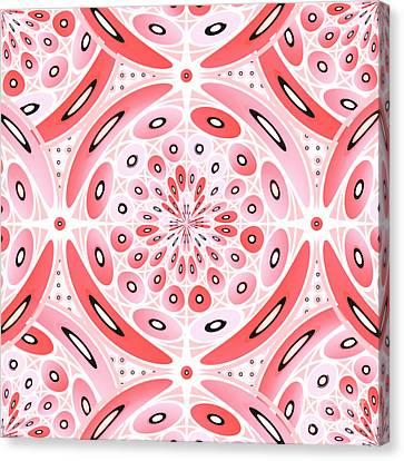 Geometric Harmony Canvas Print by Gaspar Avila