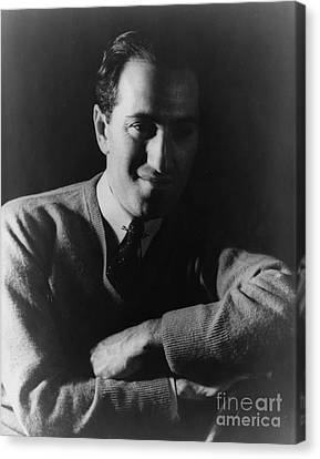 Gershwin Canvas Print - George Gershwin, American Composer by Science Source