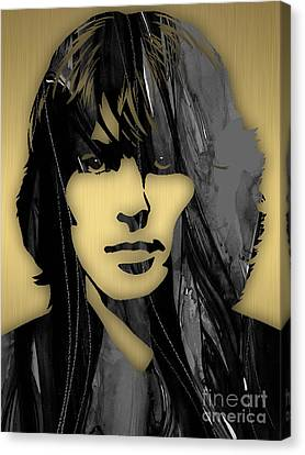 George Harrison Collecton Canvas Print by Marvin Blaine